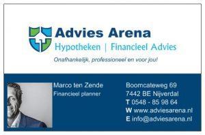 Marco ten Zende eigenaar Advies Arena